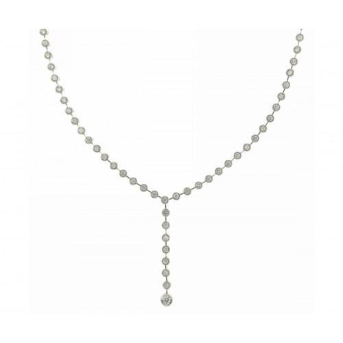 Girocollo semirigido con diamanti 2 carati G-VS1