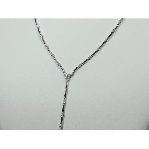 Girocollo semirigido con diamanti carati 0,61 G-VS1